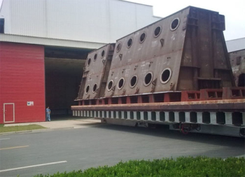 16m×12m×8m台(tai)車式熱處理爐